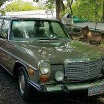 1975 4 Dr. Mercedes Diesel Convertible